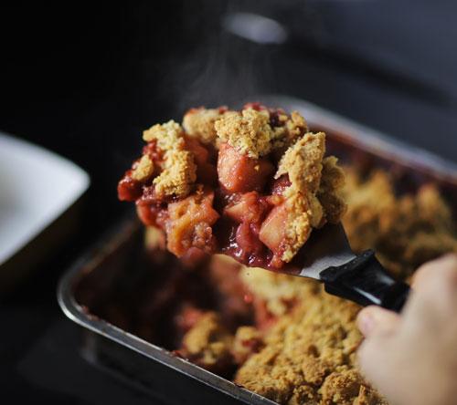 Crumble fraises Spok