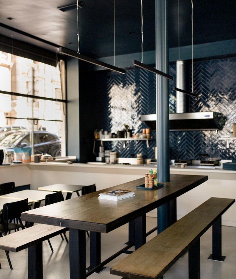 Intérieur restaurant Spok